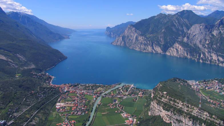 Vista sul lago di Garda
