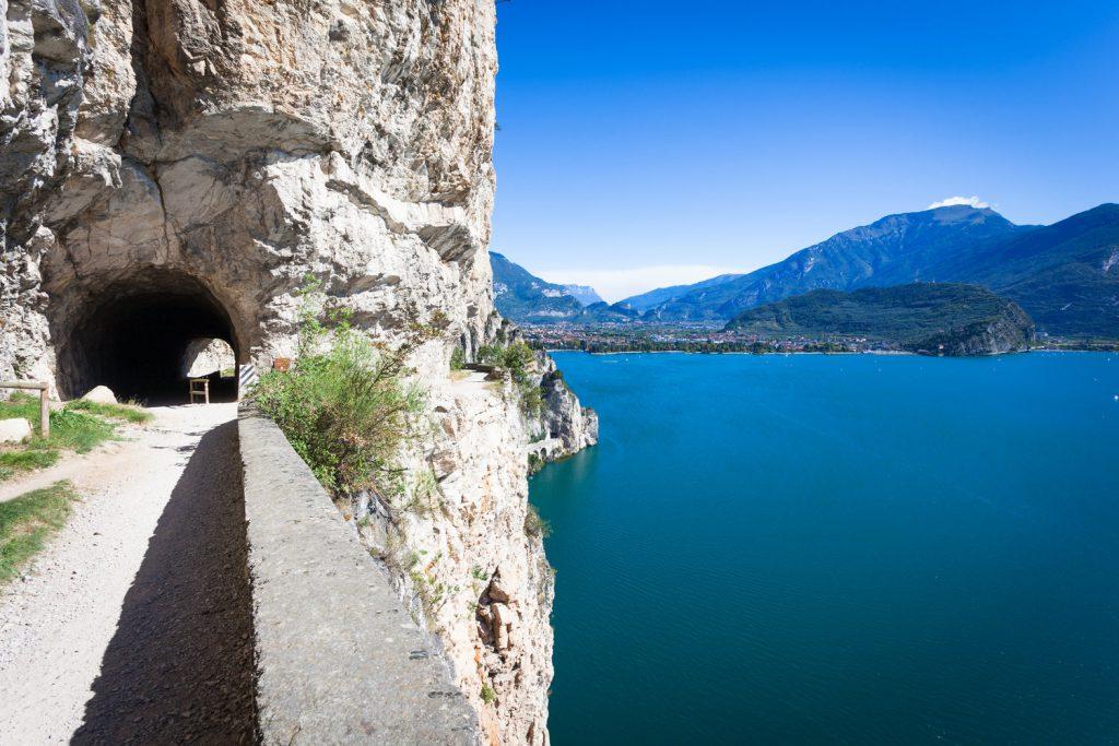 Sentiero del Ponale, Lago di Garda